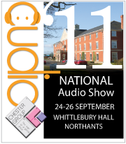 National Audio Show logo